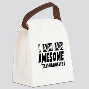 I Am Televangelist Canvas Lunch Bag