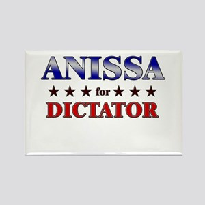 ANISSA for dictator Rectangle Magnet