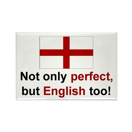 Perfect English Rectangle Magnet