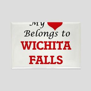 My heart belongs to Wichita Falls Texas Magnets