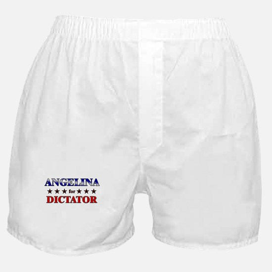 ANGELINA for dictator Boxer Shorts