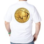 Gold Buffalo Golf Shirt