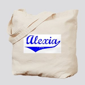 Alexia Vintage (Blue) Tote Bag
