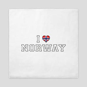 I Love Norway Queen Duvet