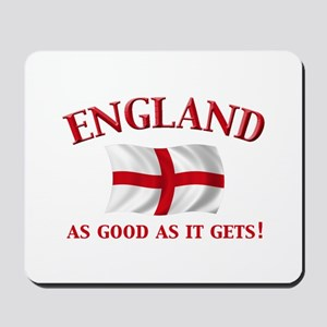 English Flag Mousepad