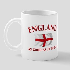 English Flag Mug