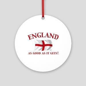 English Flag Keepsake Ornament