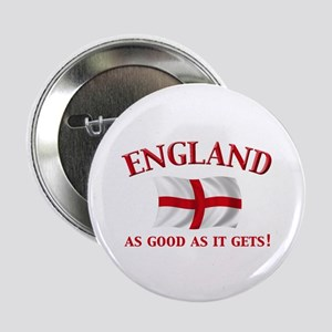 """English Flag 2.25"""" Button (10 pack)"""