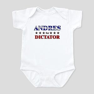 ANDRES for dictator Infant Bodysuit