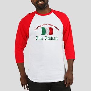 Italian Pasta Sauce Baseball Jersey