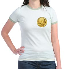 Gold Indian Head T