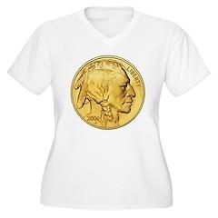 Gold Indian Head T-Shirt