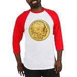 Gold Indian Head Baseball Jersey