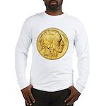 Gold Indian Head Long Sleeve T-Shirt