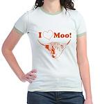 I Love Moo Highland Cow T-Shirt