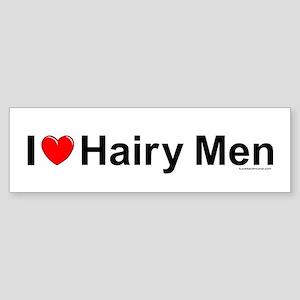 Hairy Men Sticker (Bumper)