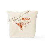 I Love Moo Highland Cow Tote Bag