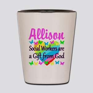SOCIAL WORKER Shot Glass