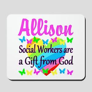 SOCIAL WORKER Mousepad