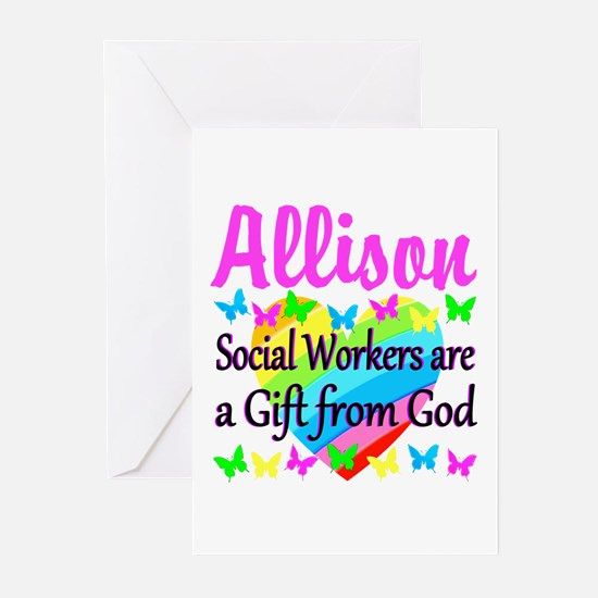SOCIAL WORKER Greeting Cards (Pk of 10)