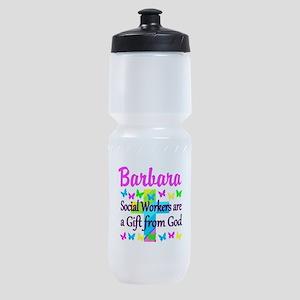 SOCIAL WORKER Sports Bottle