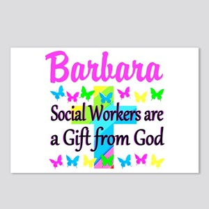 SOCIAL WORKER Postcards (Package of 8)