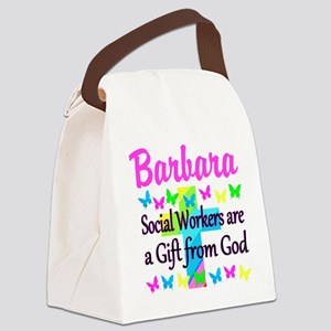 SOCIAL WORKER Canvas Lunch Bag