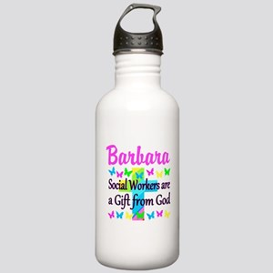SOCIAL WORKER Stainless Water Bottle 1.0L