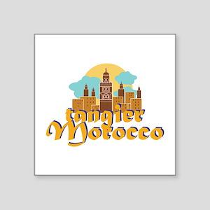 Tangier Morocco Sticker