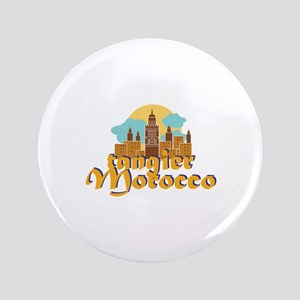 Tangier Morocco Button
