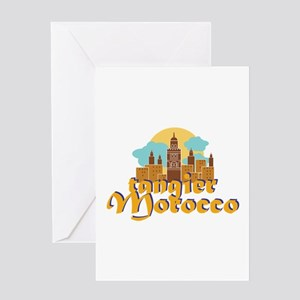 Tangier Morocco Greeting Cards