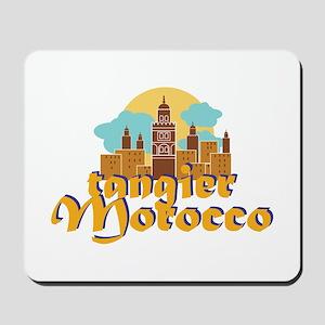Tangier Morocco Mousepad
