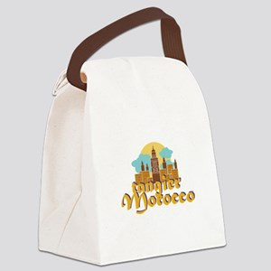 Tangier Morocco Canvas Lunch Bag