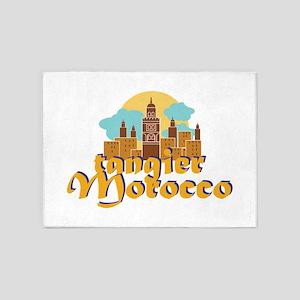 Tangier Morocco 5'x7'Area Rug