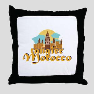 Tangier Morocco Throw Pillow
