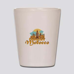 Tangier Morocco Shot Glass