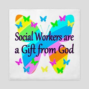SOCIAL WORKER Queen Duvet