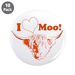 I Love Moo Highland Cow 3.5