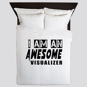 I Am Visualizer Queen Duvet