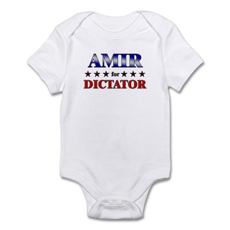 AMIR for dictator Infant Bodysuit