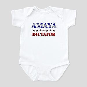 AMAYA for dictator Infant Bodysuit