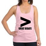 Greater Than Great Debate Tank Top