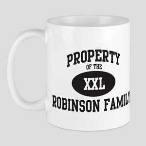 Property of Robinson Family Mug