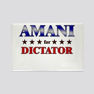 AMANI for dictator Rectangle Magnet