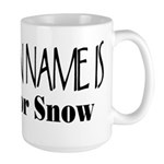 My Indian Name - Prays for Snow Large Mug