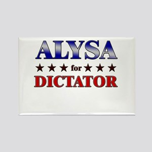 ALYSA for dictator Rectangle Magnet