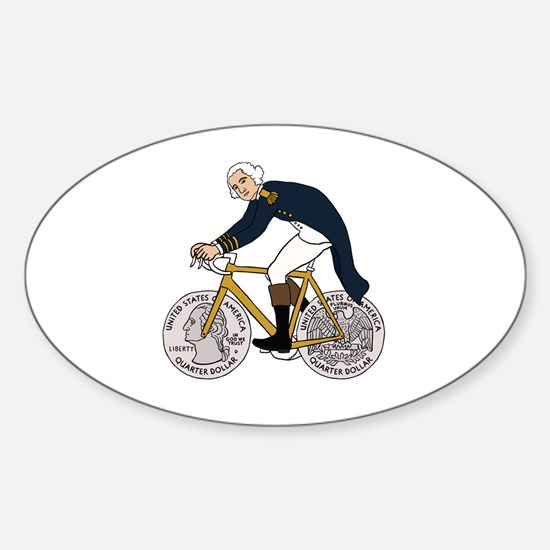 Cool Fixed Sticker (Oval)