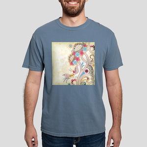 Ornamental Vintage Floral Pretty Decorativ T-Shirt