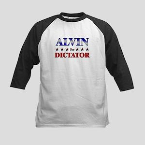 ALVIN for dictator Kids Baseball Jersey