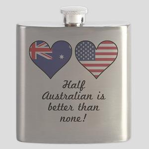Half Australian Is Better Than None Flask